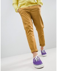 Pantalon chino moutarde ASOS DESIGN