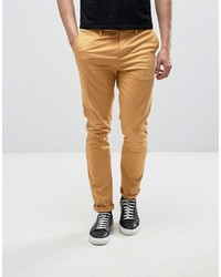 Pantalon chino moutarde Asos