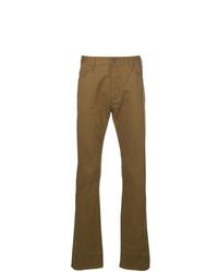 Pantalon chino moutarde Emporio Armani