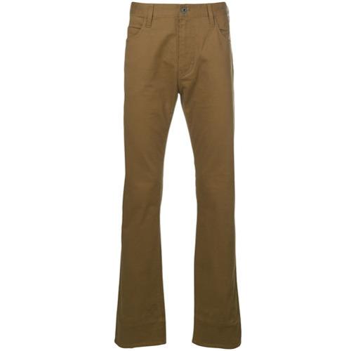 128bcc4dc7f ... Pantalon chino moutarde Emporio Armani ...