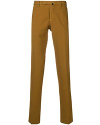 Pantalon chino moutarde Incotex