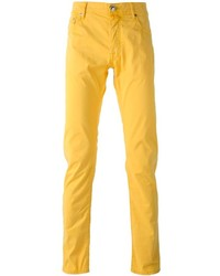 Pantalon chino moutarde Jacob Cohen