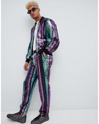 Pantalon chino multicolore ASOS DESIGN