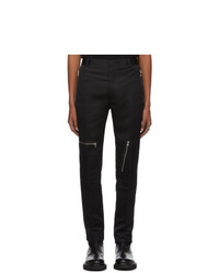 Pantalon chino noir Alexander McQueen