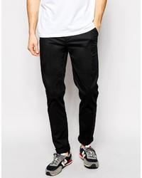 Pantalon chino noir Asos