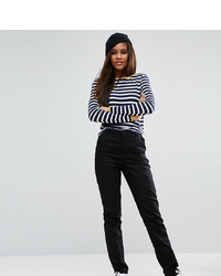 Pantalon chino noir Asos Tall