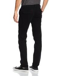 Pantalon chino noir Boss Orange