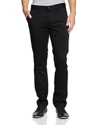 Pantalon chino noir Boss Orange