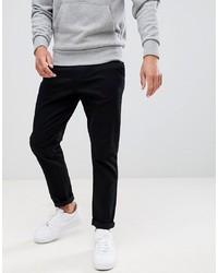 Pantalon chino noir Burton Menswear