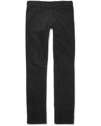 Pantalon chino noir Canali