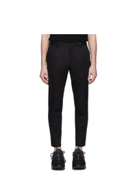 Pantalon chino noir Dolce and Gabbana