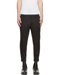 Pantalon chino noir DSQUARED2
