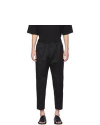 Pantalon chino noir Jil Sander