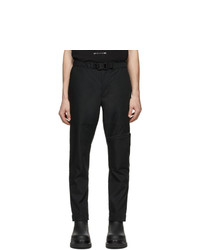 Pantalon chino noir Moncler Genius