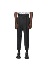 Pantalon chino noir Neil Barrett