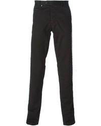 Pantalon chino noir Philipp Plein