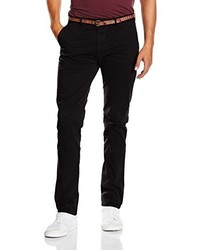 Pantalon chino noir Scotch & Soda