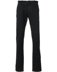 Pantalon chino noir Stone Island