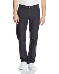Pantalon chino noir Tom Tailor