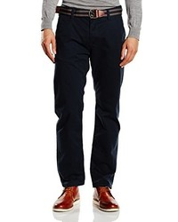 Pantalon chino noir Tom Tailor