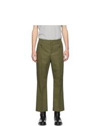 Pantalon chino olive Acne Studios
