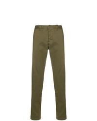 Pantalon chino olive AMI Alexandre Mattiussi