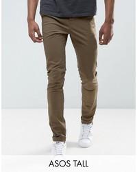Pantalon chino olive Asos
