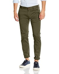 Pantalon chino olive Boss Orange