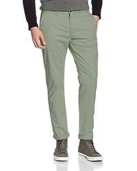 Pantalon chino olive Esprit