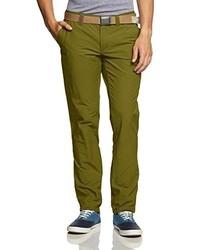 Pantalon chino olive Exxtasy