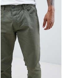 Pantalon chino olive French Connection