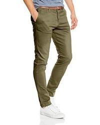 Pantalon chino olive Jack & Jones