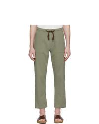 Pantalon chino olive Nanushka