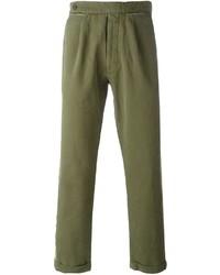 Pantalon chino olive Palm Angels