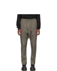Pantalon chino olive Rick Owens
