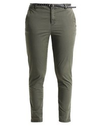Pantalon chino olive Scotch & Soda