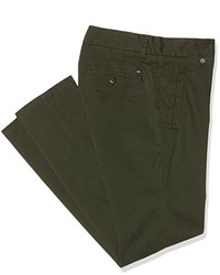 Pantalon chino olive Tommy Hilfiger
