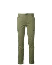 Pantalon chino olive Tory Burch
