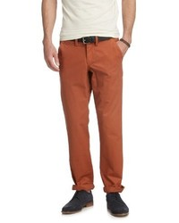 Pantalon chino orange Esprit