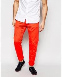 Pantalon chino orange Esprit