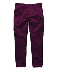 Pantalon chino pourpre foncé Dickies
