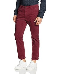 Pantalon chino pourpre foncé Esprit