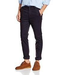 Pantalon chino pourpre foncé New Look