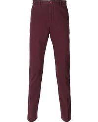 Pantalon chino pourpre Etro