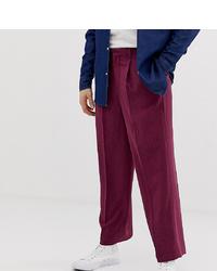 Pantalon chino pourpre Noak