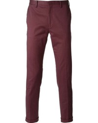 Pantalon chino pourpre Paul Smith