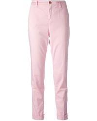 Pantalon chino rose