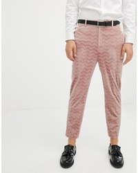 Pantalon chino rose ASOS DESIGN