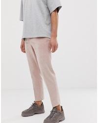 Pantalon chino rose ASOS DESIGN