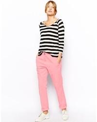 Pantalon chino rose Asos